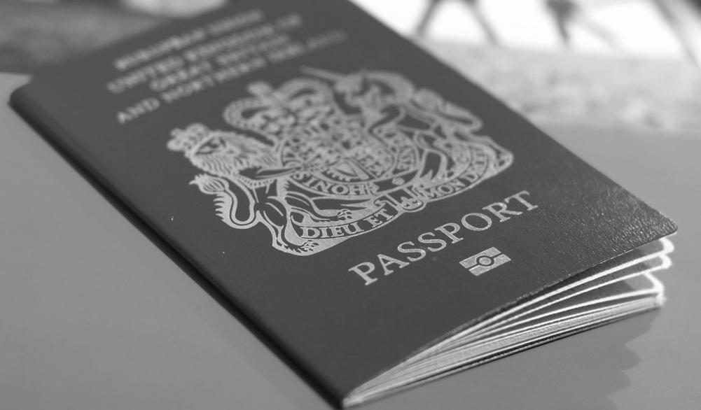 British citizenship passport